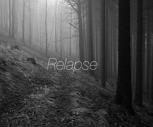 cutter, forest, and relapse image