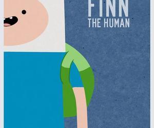 finn, adventure time, and finn the human image