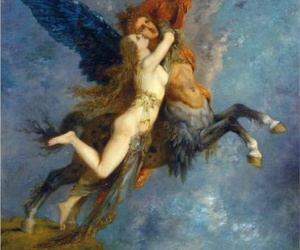 art, gustave moreau, and the chimera image
