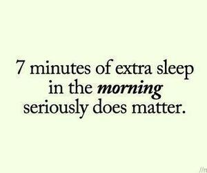 quote, sleep, and morning image