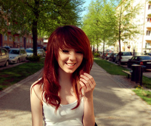 shelley mulshine, red hair, and redhead image