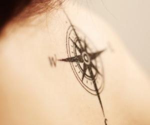 tattoo, tatuagem, and rosa dos ventos image