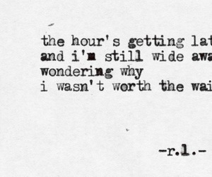 poem, quote, and time image