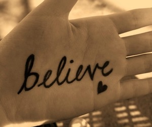 believe, heart, and Dream image