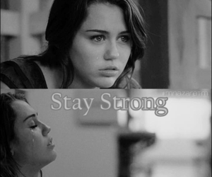 stay strong, miley cyrus, and strong image