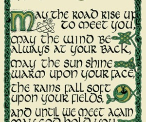 blessing and irish image