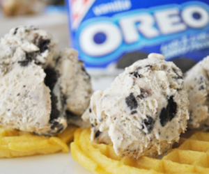 oreo, food, and waffles image