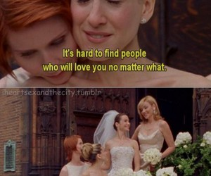 carrie, Carrie Bradshaw, and sex and the city image