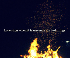 fire, incubus, and quote image