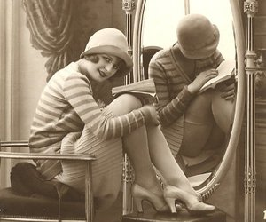 1920, 20's, and cloche image