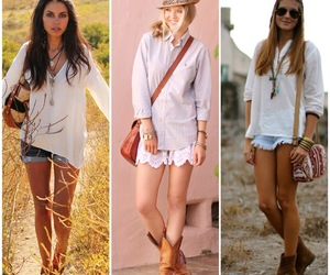 boho, chique, and looks image