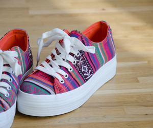 shoes, pink, and white image