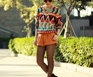 aztec, dot, and fashion image