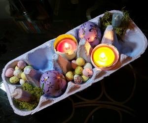 altar and ostara image