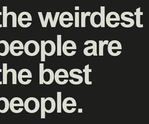 weird, quote, and people image
