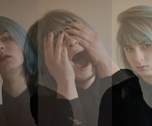 anger, depressed, and girl image