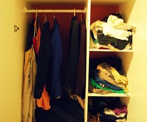 closet, colors, and dayum image