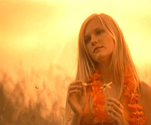 the virgin suicides, Kirsten Dunst, and flowers image