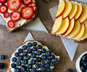 beautiful, blueberry, and cream cheese image