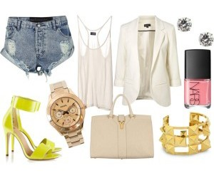 bags, blazers, and bracelets image