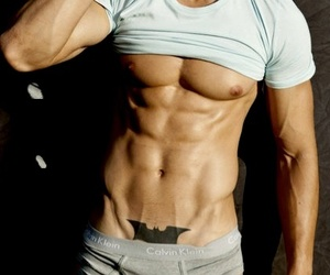 abdomen, boy, and handsome image