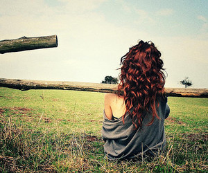 fence, hair, and amazing hair image