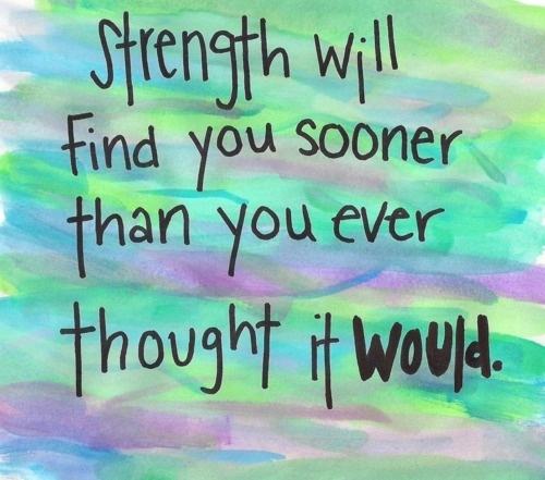 quote, love, and strength image