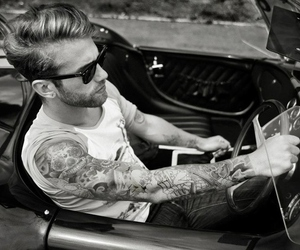 tattoo, car, and boy image