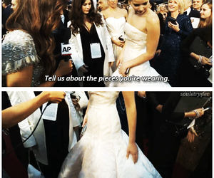 funny, Jennifer Lawrence, and dress image