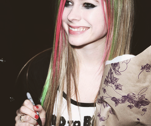 Avril Lavigne, girl, and hair image