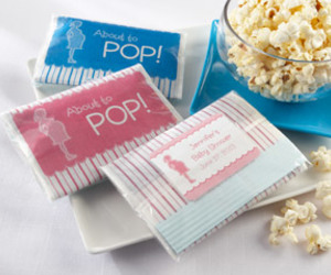 baby shower favors, personalized favors, and practical favors image