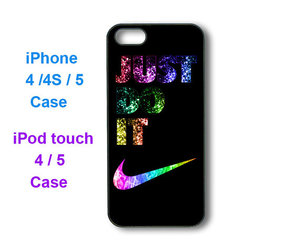 Just Do It, ipod case, and iphone 4 case image