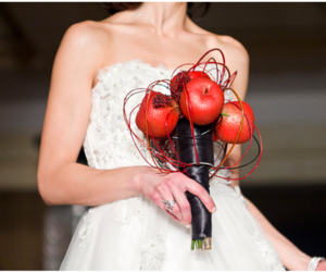 wedding hairstyle, maternity wedding dresses, and pregnant wedding dresses image