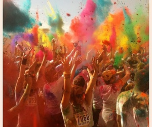 colors, party, and run image