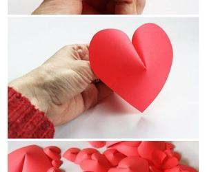 diy, heart, and decoration image