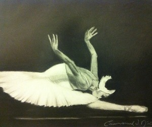 ballet, women, and carboncillo image
