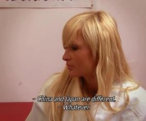 paris hilton, quote, and funny image