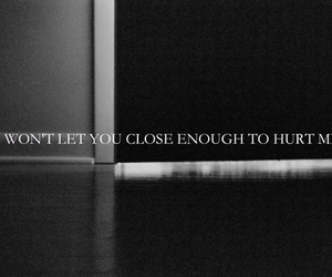 close, hurt, and quote image