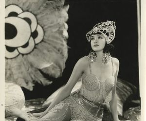 1930s, costume, and pearls image
