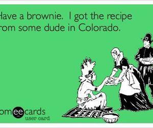 brownie, colorado, and dude image