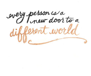 quote, world, and person image