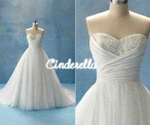 cinderella, dress, and wedding dress image