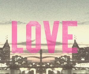 city, love, and lights image