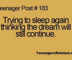 Dream, teenager post, and quote image