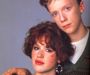 Anthony Michael Hall and Molly Ringwald image