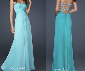 dress, girl, and Prom image