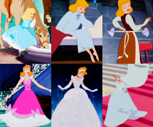 bride, cinderella, and disney image