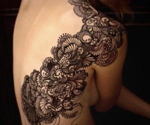 lace tattoo image