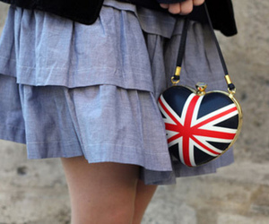fashion, bag, and england image