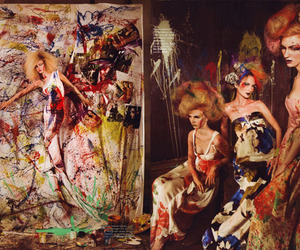art, fashion, and model image